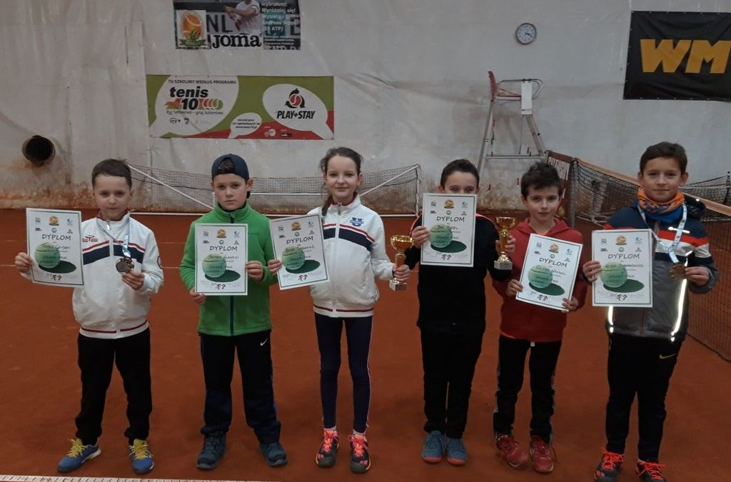 GRAND-PRIX WARMII i MAZUR TENIS 10 (do 10 lat) i GREEN TOUR (do 14 lat)- 16.02.2019 wyniki